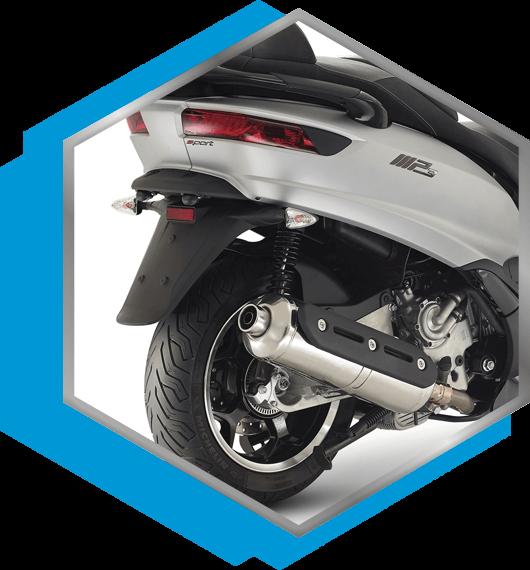 Moto scooter Piaggio