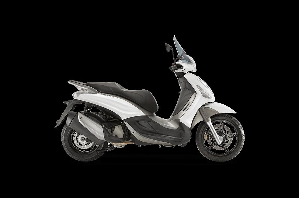Piaggio Beverly 350 moto blanca