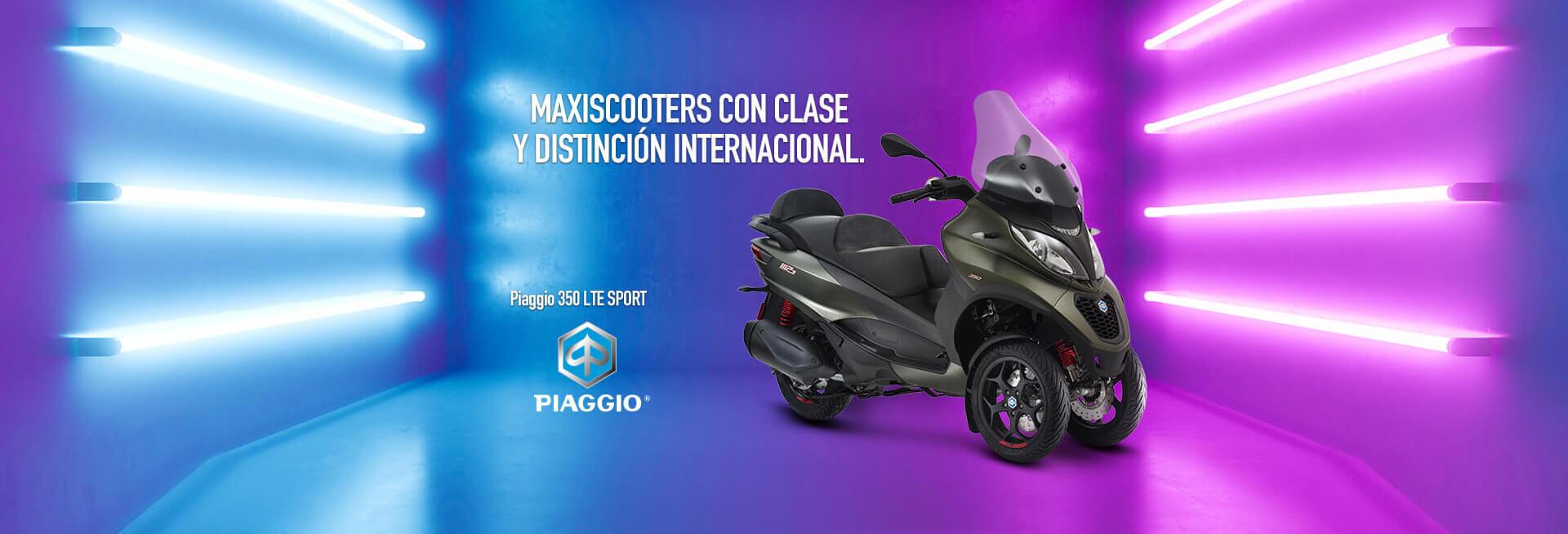 Compra una maxi scooter